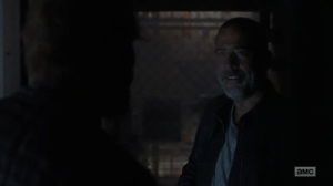 Adaptation- Negan finds Big Richie still at the Sanctuary- AMC, The Walking Dead