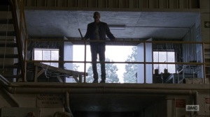Adaptation- Negan returns to the Sanctuary- AMC, The Walking Dead