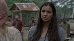 Adaptation- Tara talks with Tammy about Hilltop leadership- AMC, The Walking Dead