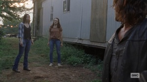 Bounty- Addy and Enid tell Daryl that they will go find Henry and Lydia- AMC, The Walking Dead