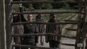 Bounty- Alpha signals for more Whisperers- AMC, The Walking Dead