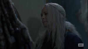 Bounty- Carol talks with Ezekiel about the fair- AMC, The Walking Dead