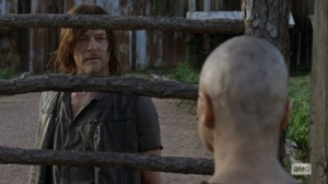Bounty- Daryl speaks directly with Alpha- AMC, The Walking Dead