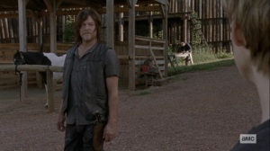 Bounty- Daryl tells Henry that he did what he had to do- AMC, The Walking Dead