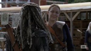 Bounty- Dianne back at the Kingdom, talks with Ezekiel- AMC, The Walking Dead