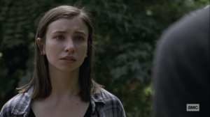 Bounty- Enid tells Henry about when she saw her parents die- AMC, The Walking Dead