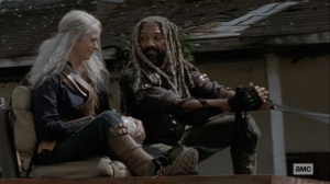 Bounty- Ezekiel and Carol head back to the Kingdom- AMC, The Walking Dead