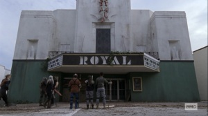Bounty- Ezekiel brings the Kingdom warriors to a movie theater- AMC, The Walking Dead