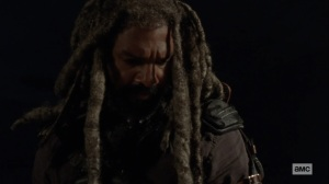 Bounty- Ezekiel looks over the charter- AMC, The Walking Dead