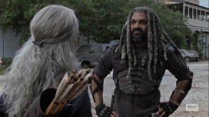 Bounty- Ezekiel tells Carol that he's looking for a projector bulb- AMC, The Walking Dead
