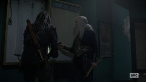 Bounty- Ezekiel wants a frame for the charter- AMC, The Walking Dead