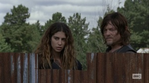 Bounty- Magna and Daryl watch Alpha- AMC, The Walking Dead