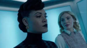 calaMity- Esme tells Reeva that Phoebe and Sophie are looking into Max's death- Fox, X-Men, The Gifted