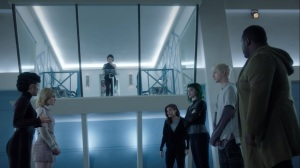 calaMity- Reeva informs the Inner Circle mutants that Max is dead- Fox, X-Men, The Gifted
