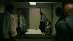 Hunters in the Dark- Roland and Wayne question Tom Purcell in 1990- HBO, True Detective