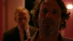 Hunters in the Dark- Tom finds the pink room as Harris James approaches from behind- HBO, True Detective