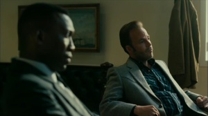 Hunters in the Dark- Wayne and Roland speak to Harris James- HBO, True Detective