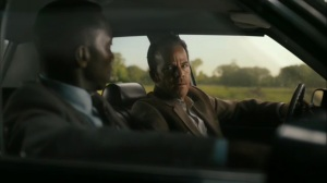 Hunters in the Dark- Wayne and Roland talk about who the kids may have met in Devil's Den- HBO, True Detective