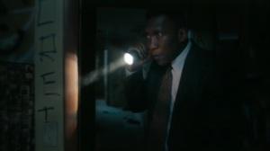Hunters in the Dark- Wayne explores a building- HBO, True Detective