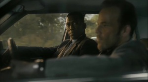 Hunters in the Dark- Wayne tells Roland to pull over- HBO, True Detective