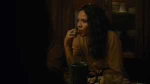 If You Have Ghosts- Amelia asks Wayne and Roland about the Julie Purcell investigation- HBO, True Detective