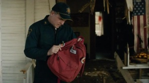 If You Have Ghosts- Officer finds Will Purcell's backpack at Brett Woodard's home- HBO, True Detective