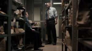 If You Have Ghosts- Wayne asks an officer about the missing prints- HBO, True Detective