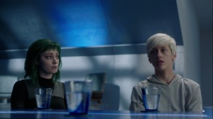 Monsters- Andy and Lorna listen to Reeva describe her plan- Fox, X-Men, The Gifted