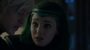 Monsters- Andy tells Lorna that he isn't the same person that he used to be- Fox, X-Men, The Gifted