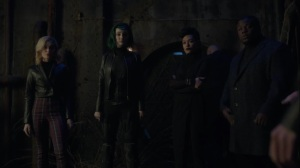 Monsters- Inner Circle mutants arrive at the tunnels- Fox, X-Men, The Gifted