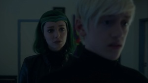 Monsters- Lorna informs Andy about the mutants killed in the tunnels- Fox, X-Men, The Gifted