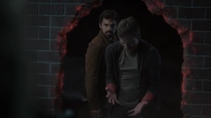 Monsters- Reed destroys a wall- Fox, X-Men, The Gifted