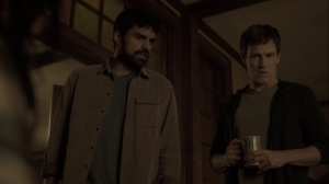 Monsters- Reed, John, and Marcos listen to the police communication- Fox, X-Men, The Gifted