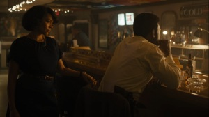 Now Am Found- Amelia joins Wayne at the bar- HBO, True Detective
