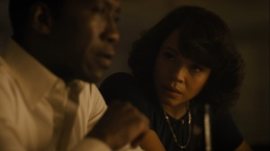 Now Am Found- Amelia tells Wayne that he has to eventually decide- HBO, True Detective