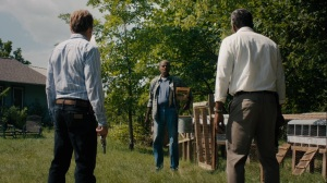 Now Am Found- Junius Watts greets Rolana and Wayne- HBO, True Detective