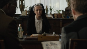 Now Am Found- Nun tells Wayne and Roland about Julie's time at the convent- HBO, True Detective