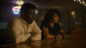 Now Am Found- Wayne and Amelia at the bar- HBO, True Detective