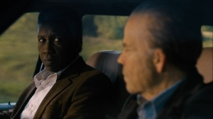 Now Am Found- Wayne and Roland on the way to meet Junius Watts- HBO, True Detective