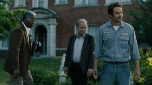 Now Am Found- Wayne and Roland speak with an older Mike- HBO, True Detective