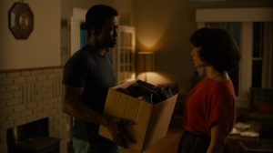 Now Am Found- Wayne brings Amelia's box of stuff- HBO, True Detective