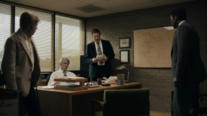 Now Am Found- Wayne is told to sign a statement that rebukes Amelia's article- HBO, True Detective