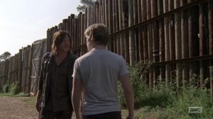 Omega- Daryl tells Henry to stop telling Lydia about the Kingdom- AMC, The Walking Dead
