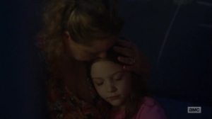 Omega- Lydia and her mother- AMC, The Walking Dead