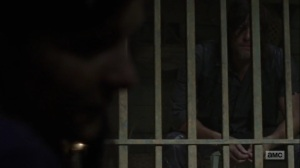 Omega- Lydia tells Daryl about the song she heard when she was young- AMC, The Walking Dead