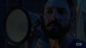 Omega- Lydia's father trims his beard- AMC, The Walking Dead
