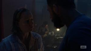 Omega- Lydia's parents talk- AMC, The Walking Dead