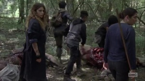 Omega- Tara leads group to search for Alden and Luke- AMC, The Walking Dead
