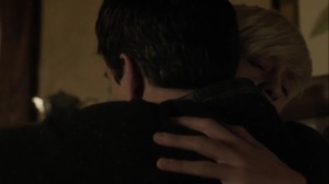 oMens- Andy hugs Reed- Fox, X-Men, The Gifted