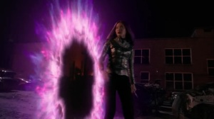 oMens- Blink tells everyone to come with her- Fox, X-Men, The Gifted